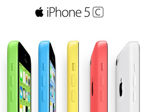 Apple iPhone 5C and Apple iPhone 5S at Verizon