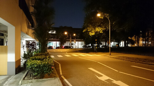 Night shots with the Sony Xperia Z1