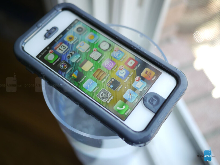 The Ballistic Hydra case is IP-68 certified. - Ballistic Hydra iPhone 5 case review