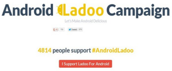 Some in India are campaigning for Google to use regional sweet Ladoo as the name for the next Android build