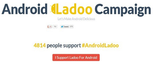 Some in India are campaigning for Google to use regional sweet Ladoo as the name for the next Android build - India wants to be considered for the name of the next Android build
