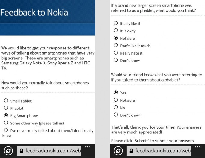 """Before launching the Lumia 1520, Nokia wants to know if you like the word """"phablet"""""""