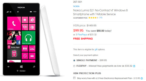 Nokia Lumia models on sale