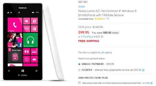 Nokia Lumia models on sale