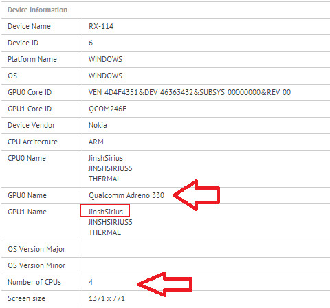 Nokia Windows RT tablet gets Bluetooth certified and runs the GFX benchmark test