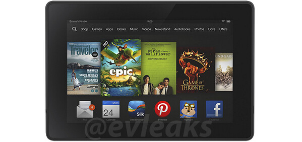 Upcoming budget Amazon Kindle Fire pops in a render, comes with some seriously thick bezels