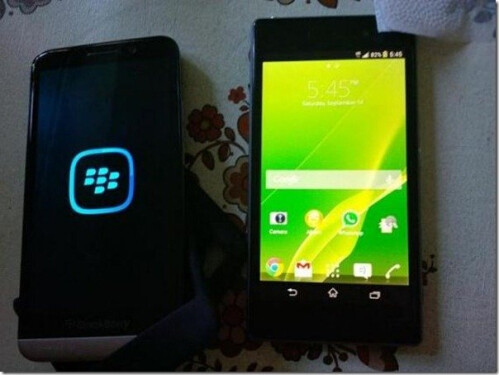 BlackBerry Aristo leaks