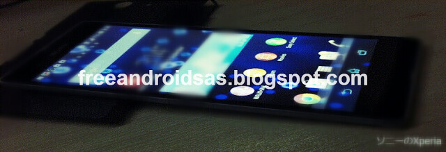 This is supposedly a picture of the rumored Sony Xperia Z2 - You've seen the leaked specs, now take a gander at what is being called the Sony Xperia Z2