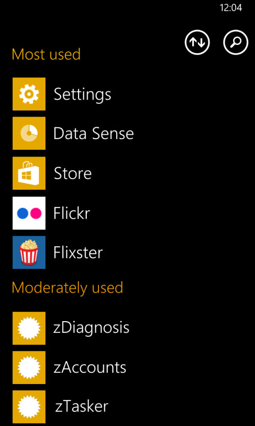 Finally, app listing. According to sources for Windows Phone Central, however, the feature may have been scrapped.