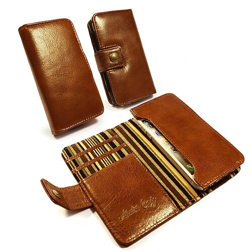 Austin Craig Vintage leather wallet iPhone 5c case ($80)
