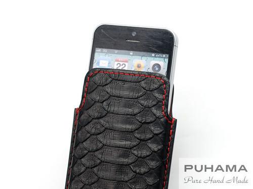 PUHAMA, python leather iPhone 5c case ($121)