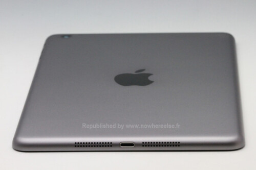 iPad mini 2 images compare aluminum to space grey