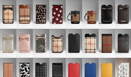 Burberry iPhone 5s cases ($195-$595)