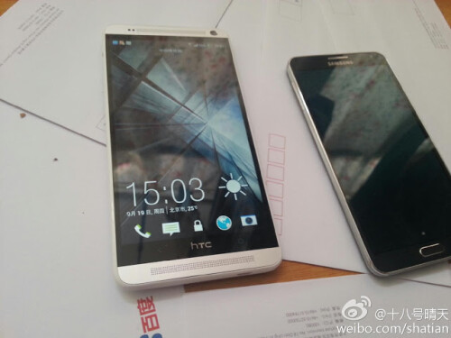 HTC One Max vs Galaxy Note 3