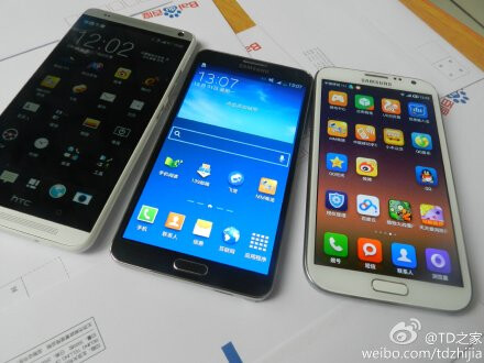 HTC One Max vs Galaxy Note 3 vs Galaxy Note 2