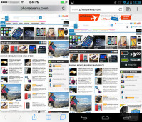 iOS 7 vs Android 4.3