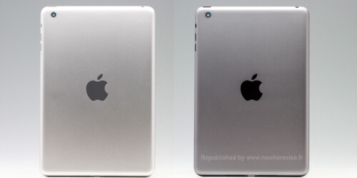 Apple iPad mini 2 casings in White & Silver and Space Gray