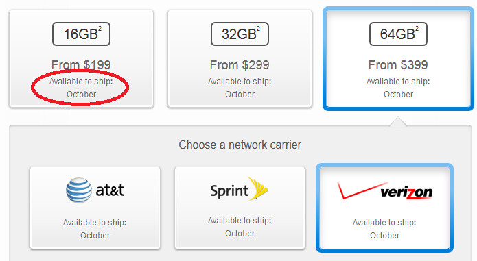 Newly ordered Apple iPhone 5s units won't arrive until next month - Apple's website now shows October delivery for Apple iPhone 5s