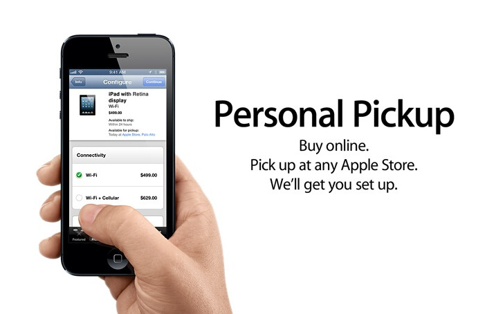 Personal Pickup is rumored to start tomorrow for Apple iPhone 5s orders - Apple rumored to start Personal Pickup for online Apple iPhone 5s orders on Monday