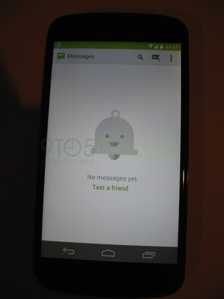 Screenshots of Android 4.4