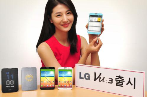 LG Vu 3 now official