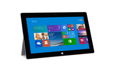 Microsoft Surface Pro 2 sports longer battery life and faster processor