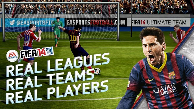 EA's FIFA 14 is now available for iOS and Android devices - Android and iOS users can get their kicks with the free FIFA 14 game from EA