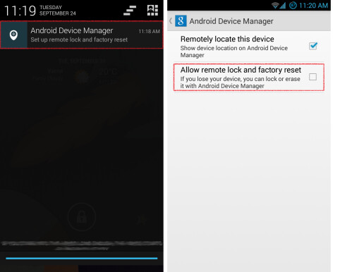Step 3: Setting up Android Device Manager