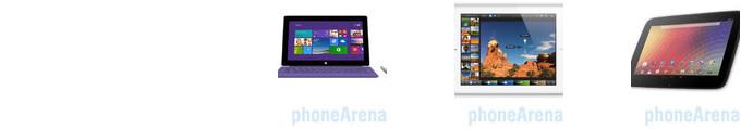 Microsoft Surface Pro 2 vs Apple iPad 4 vs Google Nexus 10: Silicon Valley MMA