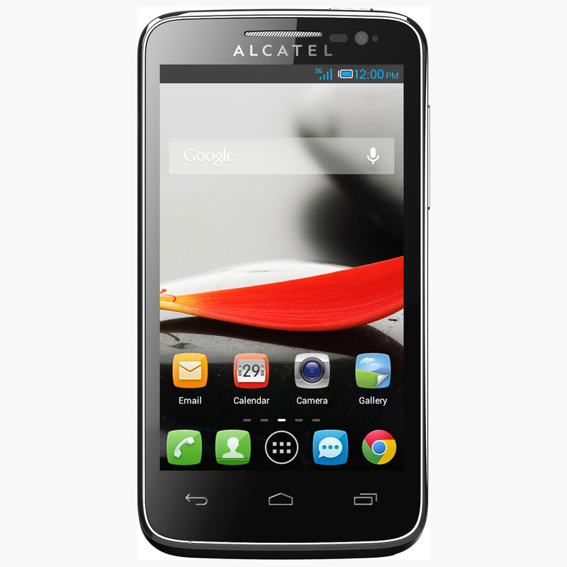 Alcatel one touch evolve one touch fierce smartphones for Telephone portable a touches