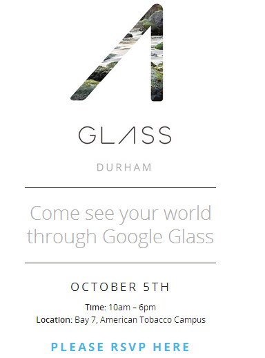 Google Glass will tour the U.S. with the first stop being Durham, North Carolina - Google Glass to tour in U.S.; Durham, North Carolina is first up