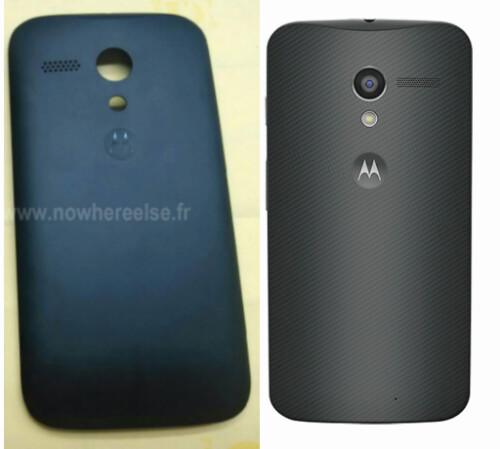 Motorola DVX's swappable panels