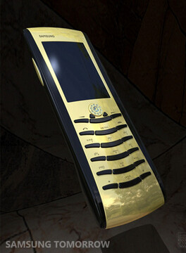 Gold phone used in Ocean's 13