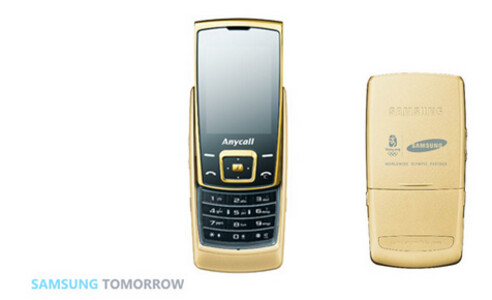 Samsung E848 produced for Beijing Olympics
