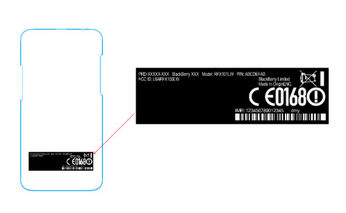 Verizon BlackBerry Z30 at FCC
