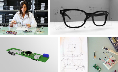 ION smart glasses keep you up to date with your phone, control your devices, ask for your money