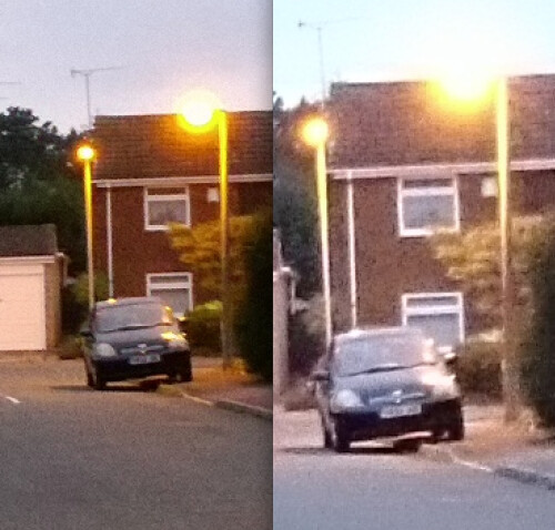 Nokia Lumia 1020 (left) vs Sony Xperia Z1 (right) lossless zoom samples