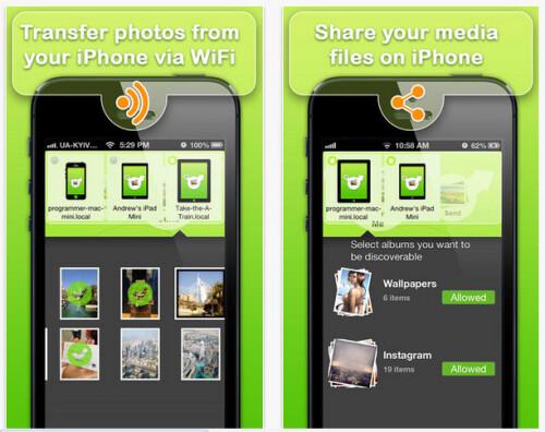 Photo Transfer WiFi - iOS - $2.99