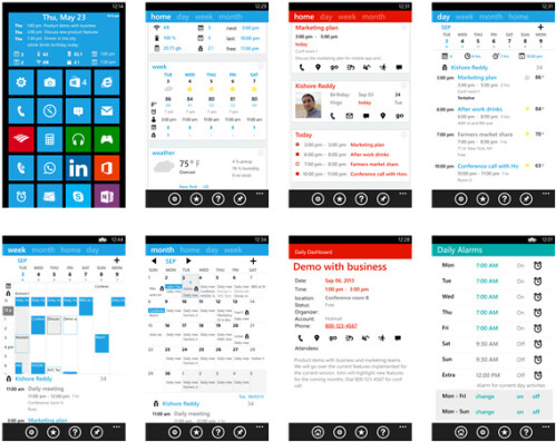 Daily Dashboard - Windows Phone - Free