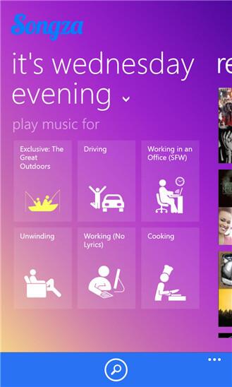 Songza - Windows Phone - Free