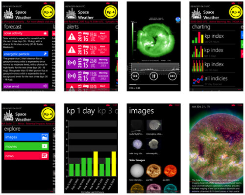Space Weather - Windows Phone - $1.99