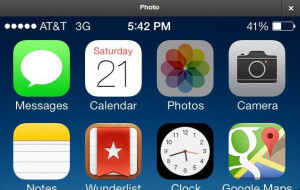 iOS 7 bugs and design inconsistencies