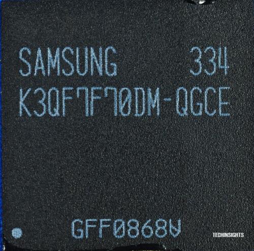 Samsung 3 GB LPDDR3 RAM module