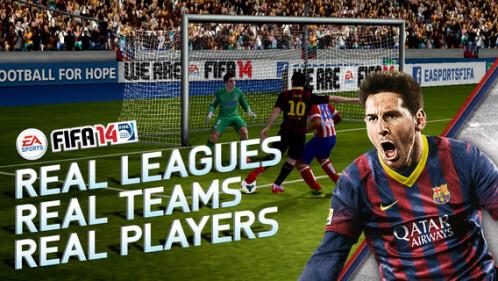 FIFA 14 - Android, iOS - Free