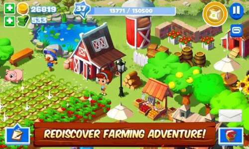 Green Farm 3 - Android - Free