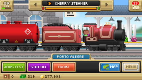 Pocket Trains - Android, iOS - Free