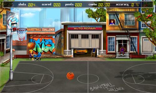 Basketball Challenge - Windows Phone - Free