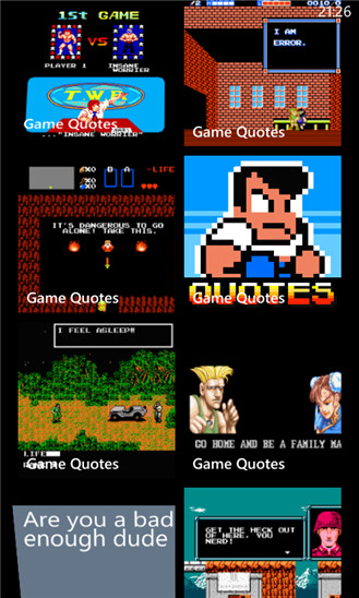 Game Quotes - Windows Phone - Free