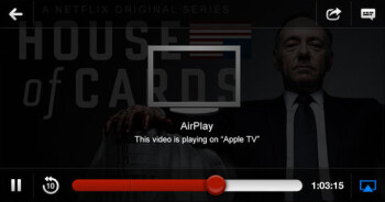 Netflix for iOS now supports AirPlay