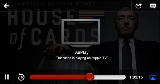 Netflix for iOS now supports AirPlay - Netflix gets iOS 7 update